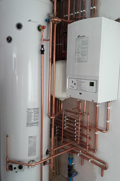 Hot water cylinder | Shedfield, Cheriton, Alresford, Petersfield, Meonstoke, Soberton and Denmead